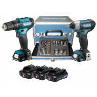 KIT VALIGETTA MAKITA MDF330DWE + MTD090D + 3 batterie Litio